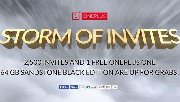 OnePlus One: una tempesta di inviti!