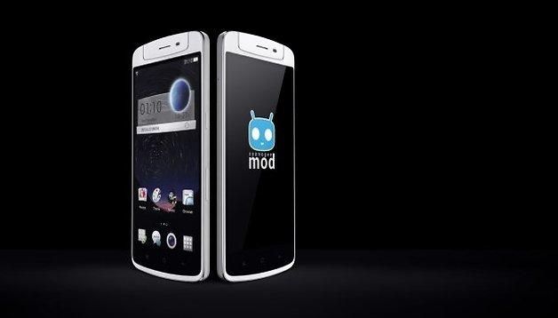Oppo N1: Das CyanogenMod-Phone mit drehbarer Kamera