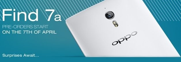 oppo find7a presale