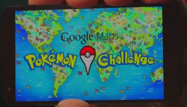 Seja um mestre Pokemón com o Google Maps