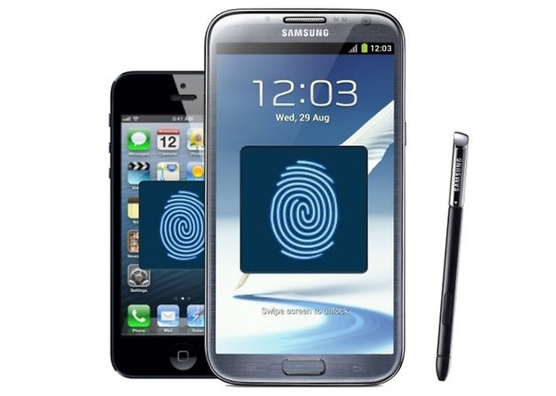 samsung apple fingerprint
