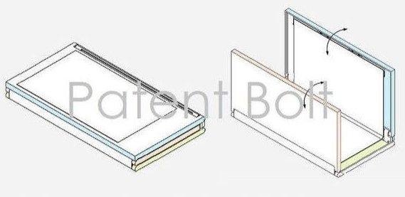 samsung display patent bolt