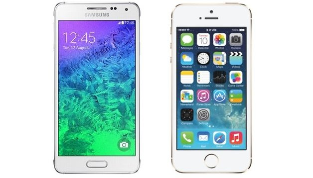 Galaxy Alpha vs. iPhone: Niemand glaubt an Samsung
