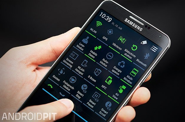 samsung galaxy note 3 quick settings teaser
