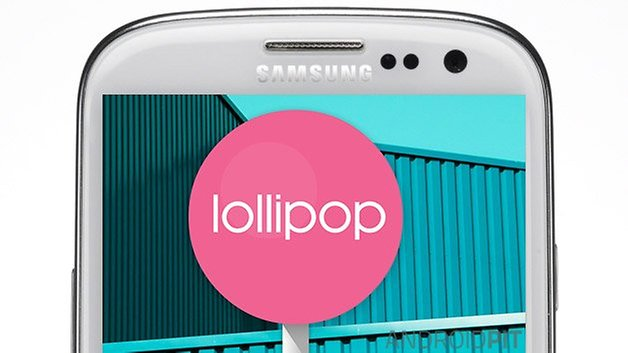 samsung galaxy s3 lollipop
