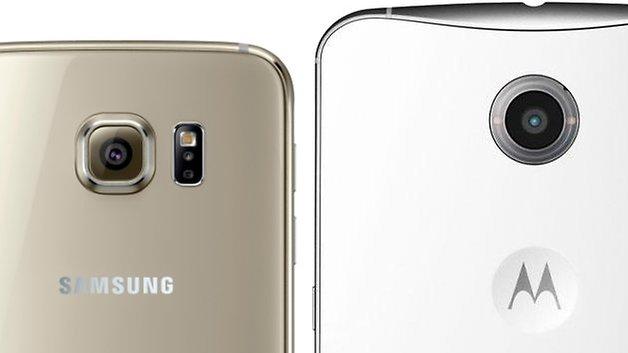 samsung galaxy s6 google nexus 6
