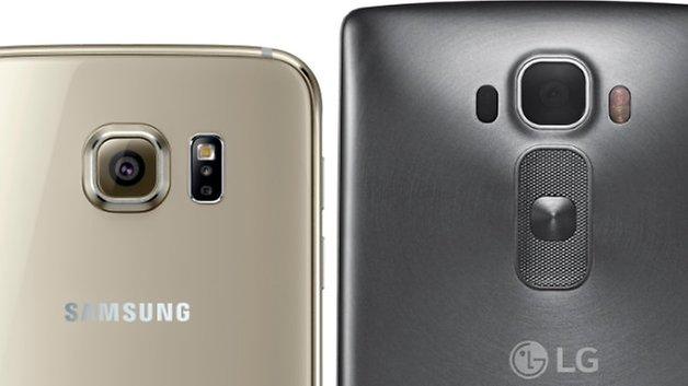 samsung galaxy s6 lg g flex 2