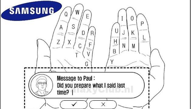 Samsung - Nuevo teclado para dispositivos wearables