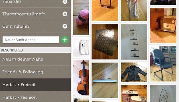 app tipp shpock der android flohmarkt f r flohmarkt muffel androidpit. Black Bedroom Furniture Sets. Home Design Ideas