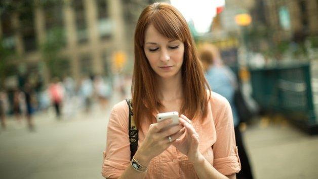 smartphone lane street