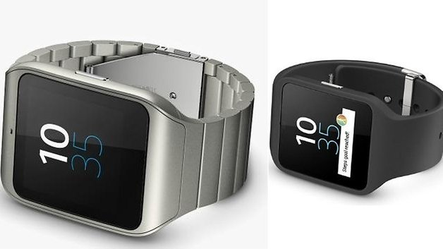sony smartwatch 3 stainless steel