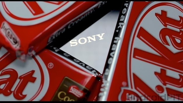sony updates kitkat new format