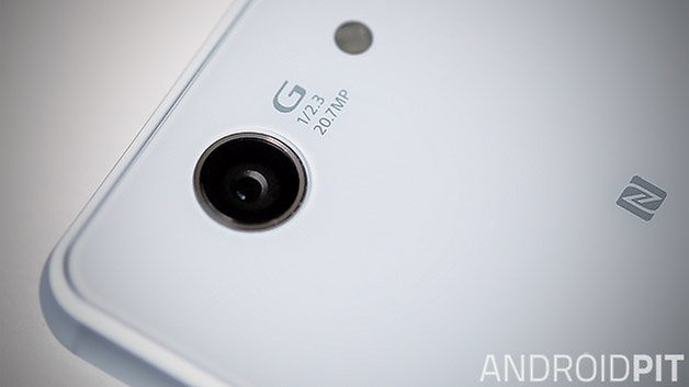Sony Xperia Z3 white camera close up teaser