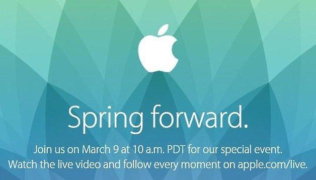 Spring Forward: Heute Abend beginnt das Smartwatch-Zeitalter