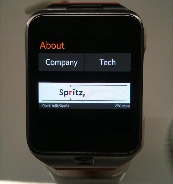 spritz gear2