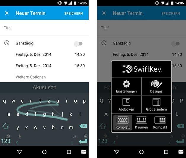 swiftkey material design screenshot