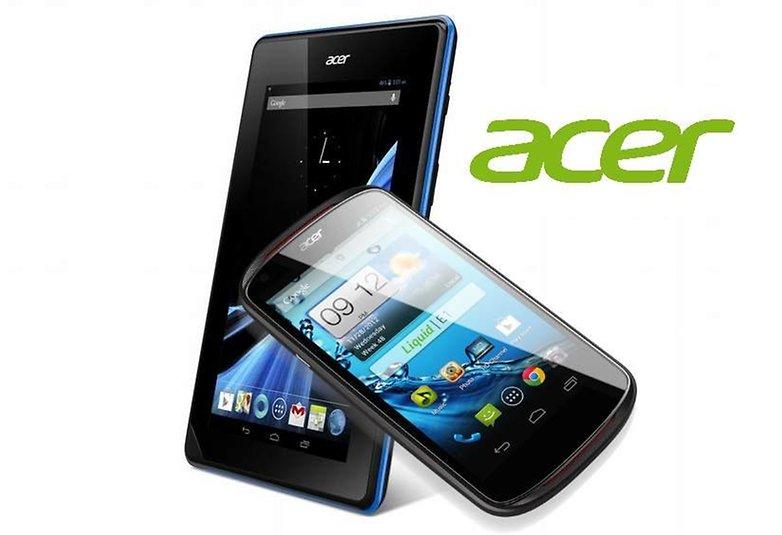 tablet smartphone acer