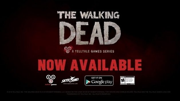the walking dead google play