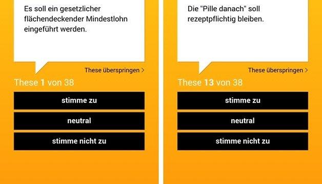 Wahl-O-Mat: Die Android-App zur Bundestagswahl 2013 ist da