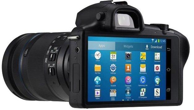 Galaxy NX - Imágenes de la nueva cámara Android de Samsung