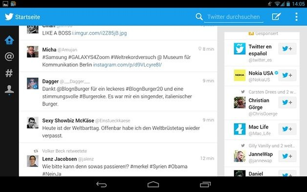 twitter app android tablet 5