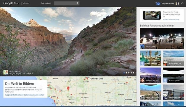 view main page