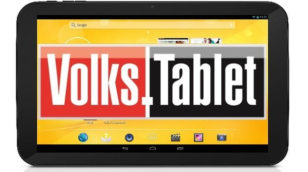 volks tablet v2 front