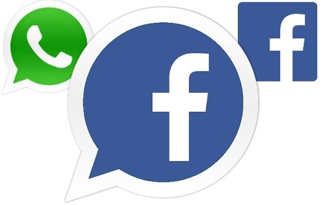 whatsapp facebook new logo
