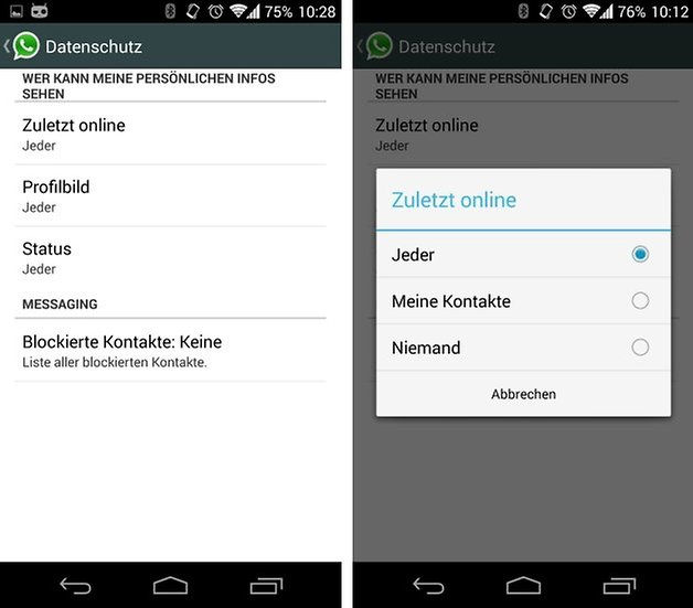 whatsapp privacy 2