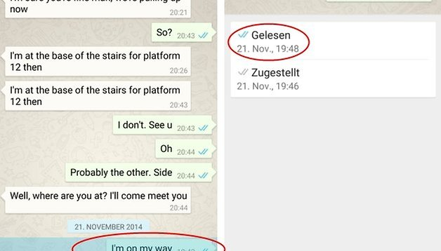 Whatsapp blaue häkchen aber nicht online gewesen