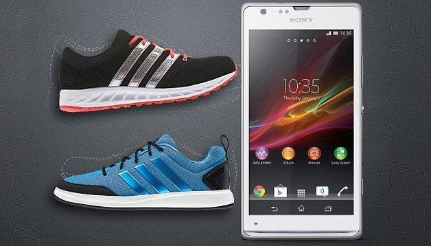 Aktion: Sony verschenkt zum Xperia SP Adidas-Schuhe