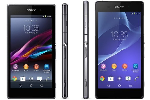 xperiaz fronts