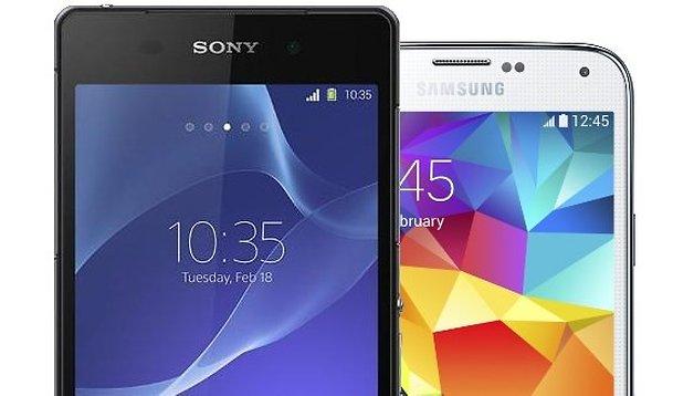 Euer Urteil: Xperia Z2 schlägt Galaxy S5 um Längen