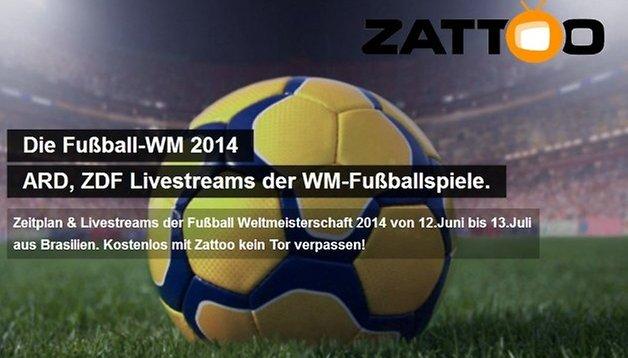 Special für Schweizer - WM 2014: Alle Spiele überall live schauen und aufnehmen mit Zattoo