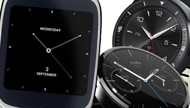 8 Steine, die der Android-Uhr im Weg liegen