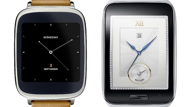zenwatch vs gear s