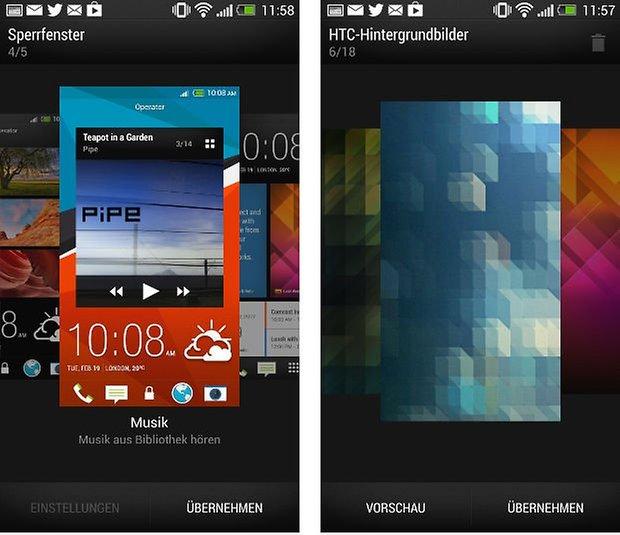 6 Lockscreen Hintergrund