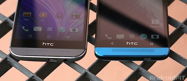 htc one, m7, m8, comparación