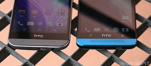htc one, m7, m8, vergleich