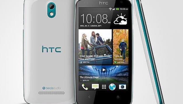 HTC Desire 500 presented: Mid-range phone with Quad-Core