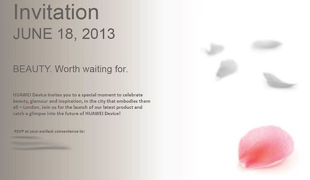 Huawei Invitation