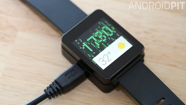LG G Watch cabo microUSB 16 9