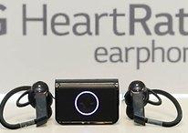 LG Lifeband Touch und Heart Rate Earphones vorgestellt