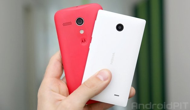 Moto G Nokia X teaser