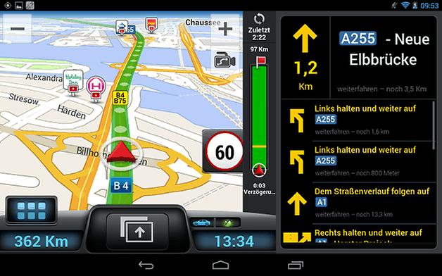 Navigation Split Tab DE small