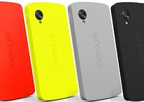 Le Nexus 4 reçoit Android 4.4 et le Nexus 5 devient multicolore