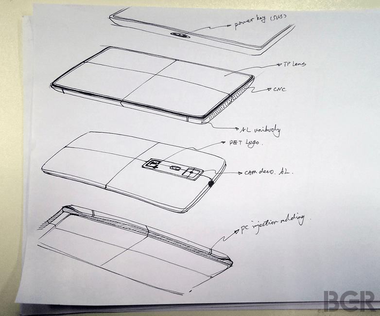 OnePlus Skizze