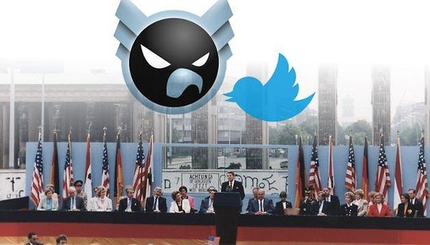 """Shitstorm gegen Twitter: """"Reißt diese Mauer nieder!"""""""