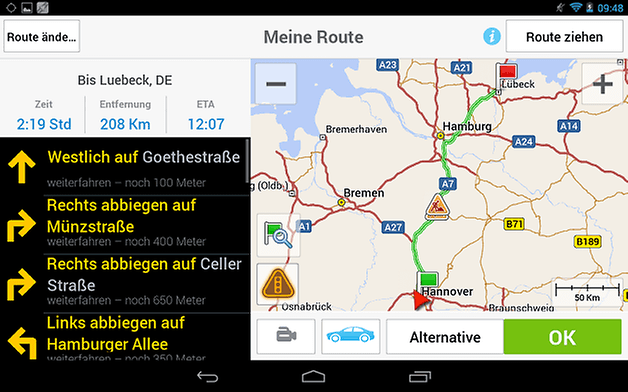 RoutePlanner Tab DE small