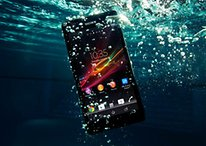 Sony Xperia ZR Can Go 1.5 Meters Underwater